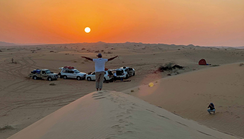 The Challenges and Charms of Traversing the Rub' al-Khali