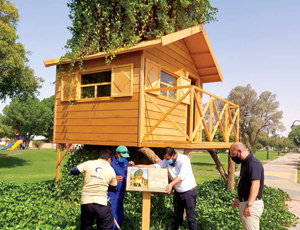 Tree House Park a Symbol of Where Community Meets the Environment