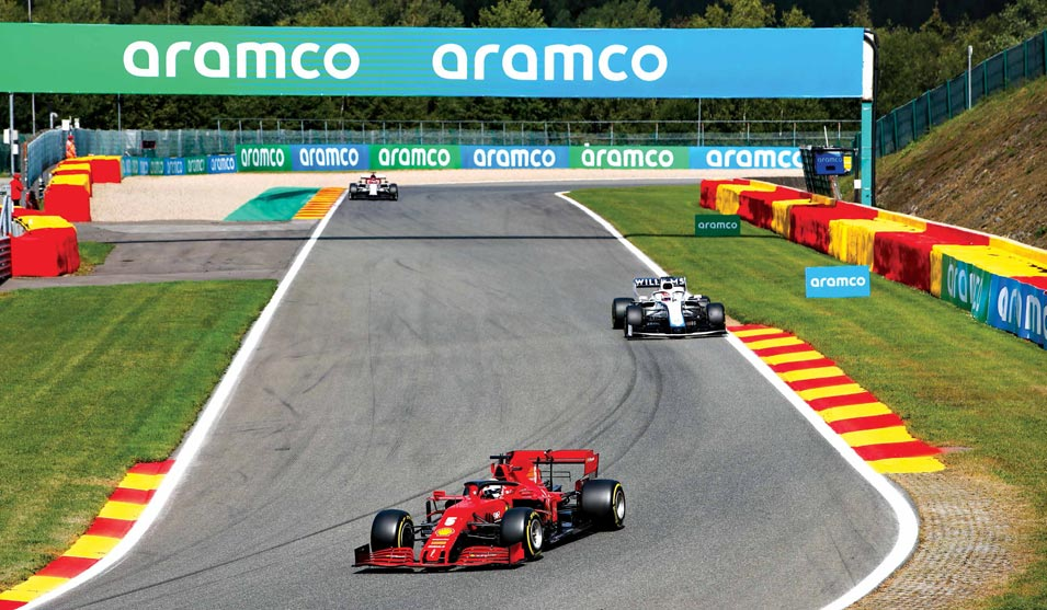 The Winning Formula: Podium Shared by Trio of Saudis after Nail-biting Finish to Formula 1 Aramco Employee League