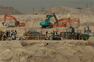 Foundations Poured for King Abdulaziz Center
