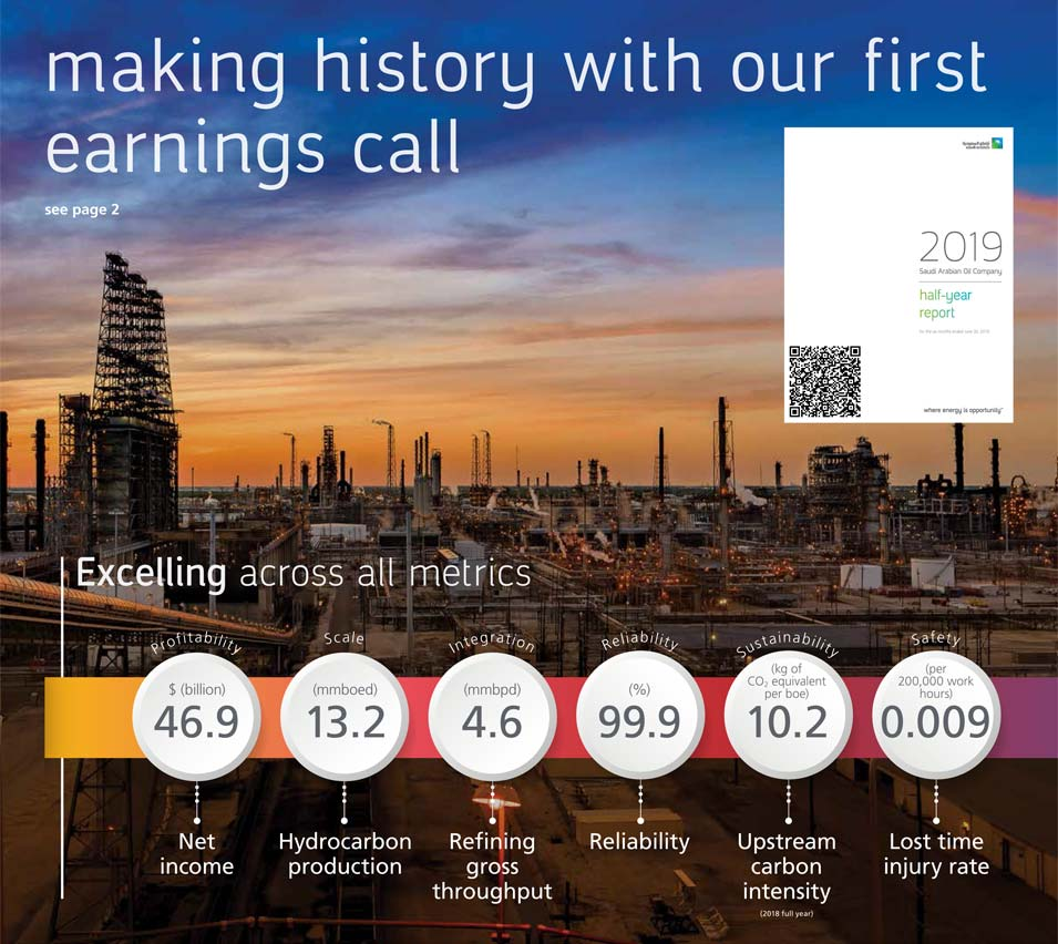 Making History with Our First Earnings Call