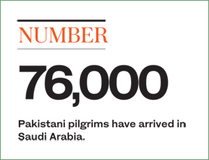 Pilgrims Arrive in Saudi Arabia for Journey of a Lifetime