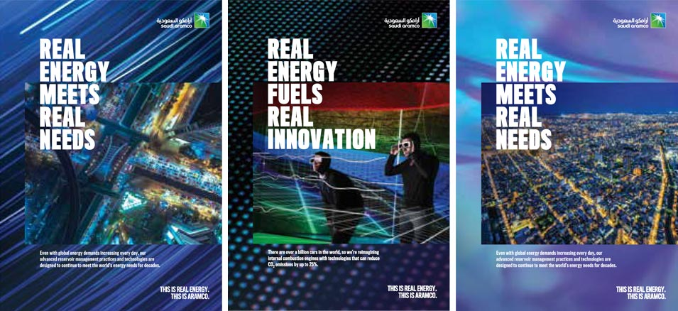 Real Impact - Across the Kingdom and Around the Globe — Aramco's First Branding Campaign