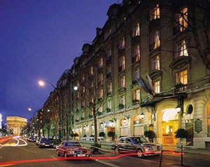 Hotel Royal Monceau on the Champs-Elysees