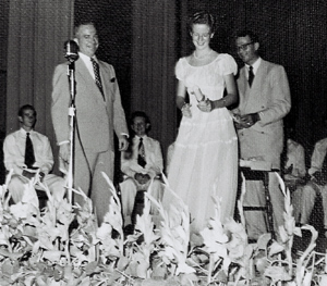 Graduation Ceremony, 1952