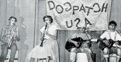 "The Junior High's ""Dogpatch Orchestra"", November 1953."