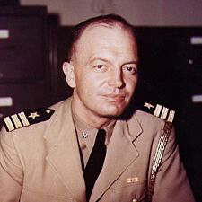 Harold Stassen, director of President Eisenhower's Foreign Operations Administration from 1953-55.