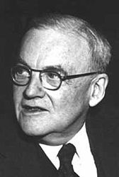 John Foster Dulles, U.S. Secretary of State during the Eisenhower Administration.