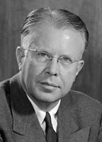 Dr. Ernest O. Lawrence, Nobel Prize-winning atomic physicist, visited Dhahran in 1953 with his wife and daughter.