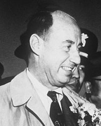 Adlai Stevenson visited Dhahran in 1953.