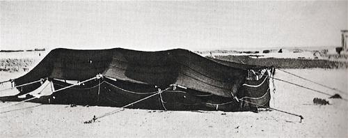 Bedouin tent, 1950s