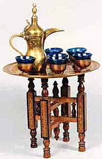Saudi Arab coffee pot