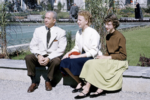 Ken, Judy and Susan Webster in Lausanne.