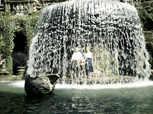 Tivoli Gardens, 1954.