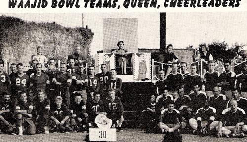 The Waajid Bowl football teams.