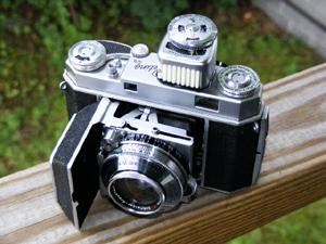 Kodak Retina II camera.