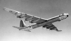 RB-36 aircraft