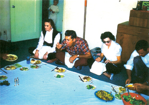Arab-style Dinner Party at the Wilson House