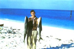 Aramco Annuitant Oran Wilson With His Fish