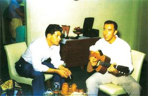 Johnny Wilson and Ken Cobb