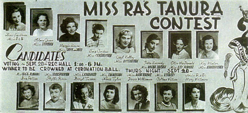 Miss Ras Tanura Contest Poster